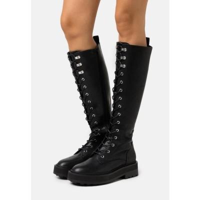 レディース 靴 シューズ Platform boots - black