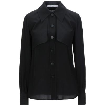 ジバンシィ GIVENCHY シャツ ブラック 36 シルク 100% シャツ