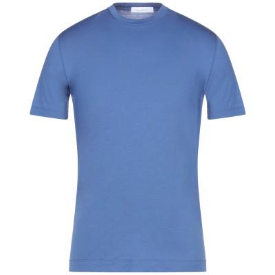 クルチアーニ CRUCIANI T シャツ パステルブルー 52 コットン 93% / ポリウレタン 7% T シャツ