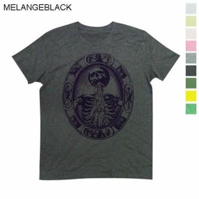 Tシャツ メンズ 半袖 古い宗教画のような神秘的な印象 デザインTee 送料無料(d9-t)