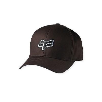 帽子 フォックス レーシング Fox Racing メンズ Guys Legacy Flexfit Hat ブラック フォックス ロゴ ボール キャップ Dark Brown