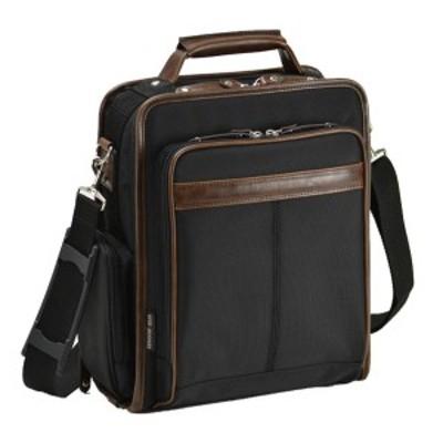 ビジネスバッグ 仕事 メンズ  出張 通勤 A4 ジャーメインギア フチ巻きビジネスシリーズ A4 ブラック 33682