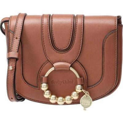 クロエ SEE BY CHLOE レディース ショルダーバッグ バッグ hana mini bag cross-body bags Brown