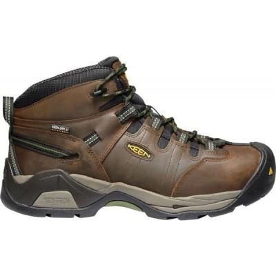 キーン Keen メンズ ブーツ ワークブーツ シューズ・靴 KEEN Detroit XT Waterproof Steel Toe Work Boots Cascade Brown