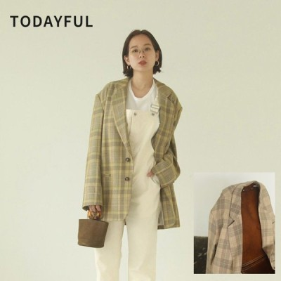 TODAYFUL LIFE's Check Over Jacket 12010104 ジャケット