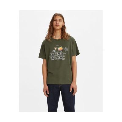 【リーバイス】 GRAPHIC CREWNECK Tシャツ SSNL MV LOGO FILL D メンズ BLACKS XL- Levi's