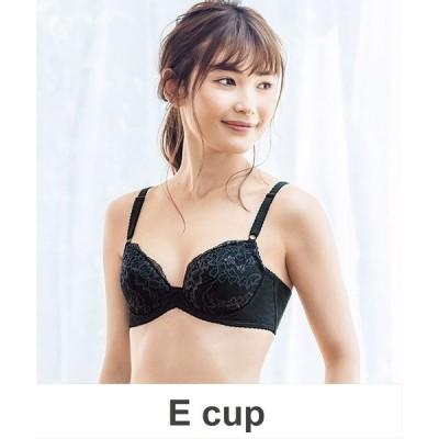 ブラ 脇から背中すっきり 3/4カップ ブラジャー  E cup