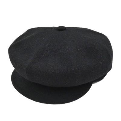 KANGOL×2G TOKYO 「WOOL SPITFIRE CAP」ウールキャスケット ブラック サイズ:L (栄店) 210106