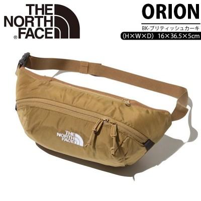 ウエストバッグ THE NORTH FACE ザ・ノースフェイス Orion メンズ レディース ポーチ 3L ボディバッグ 2020秋冬新色 ブリティッシュカーキnm71902