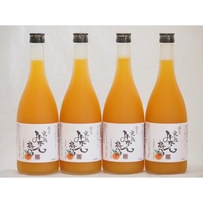紀州完熟みかん梅酒 中野BC(和歌山県)720×4本