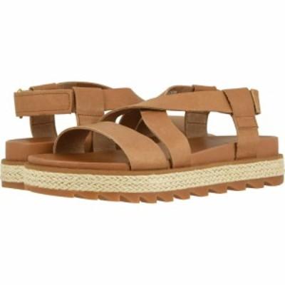 ソレル SOREL レディース サンダル・ミュール シューズ・靴 Roaming Crisscross Sandal Jute Camel Brown
