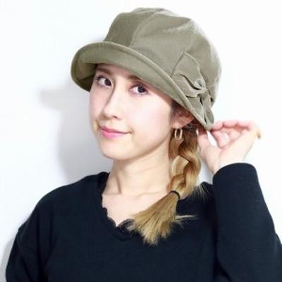 ハット レディース 秋 冬 帽子 リカエナ 婦人帽 リボン 日よけ チューリップハット 日本製 lycaen