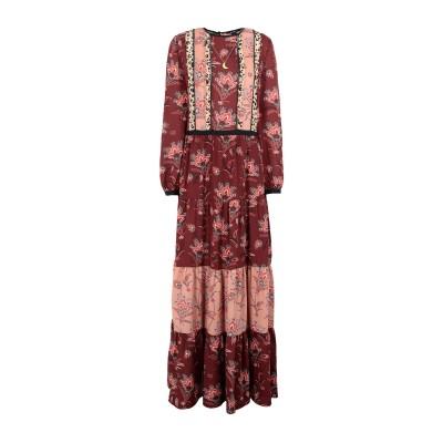 メゾンスコッチ MAISON SCOTCH ロングワンピース&ドレス レンガ M ポリエステル 100% ロングワンピース&ドレス