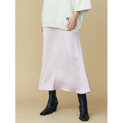 COTORICA. / サテンフレアスカート WOMEN スカート > スカート