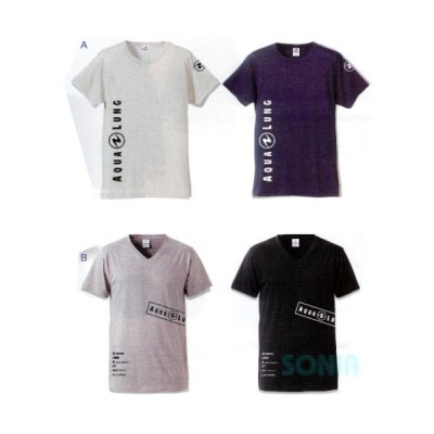 AQUALUNG(アクアラング) オリジンTシャツ ORIGIN T-SHIRTS メンズ レディース 半袖