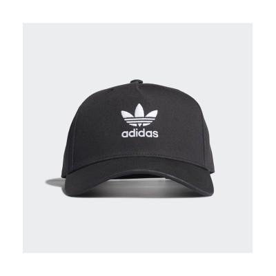 【アディダス】 アディカラー クラシック トレフォイル カーブド クローズド トラッカーキャップ ユニセックス ブラック L adidas