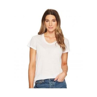 Alternative オルタネイティブ レディース 女性用 ファッション Tシャツ Kimber Short Sleeve Tee - White