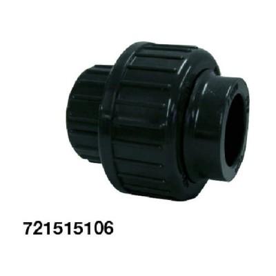 ジョージフィッシャ PVC 510型 自在ユニオン 20A(721515107)