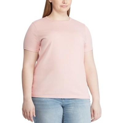 ラルフローレン カットソー トップス レディース Plus Size Cotton Knit Top Pale Rose