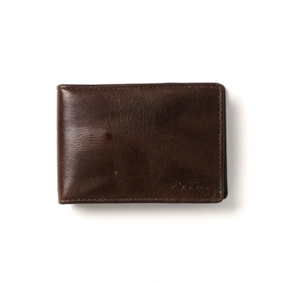 FOSSIL / DERRICK MONEY CLIP BIFOLD ML3684 MEN 財布/小物 > カードケース