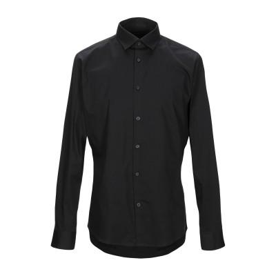 SELECTED HOMME シャツ ブラック 44 コットン 97% / ポリウレタン 3% シャツ