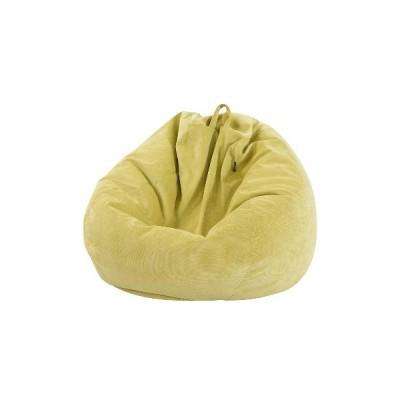 (緑)100 * 120cmレイジーソファマルチカラー&Softと快適なカバーチェアカバーインナーライナー付き暖かいコーデュロイラウンジャーシートビー