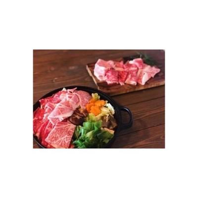 ふるさと納税 本格手打ち蕎麦とオリーブ牛すき焼きセット【B-34】 香川県多度津町