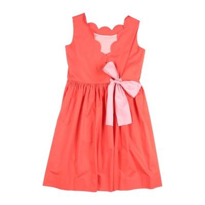 IL GUFO ワンピース&ドレス コーラル 10 コットン 96% / ポリウレタン 4% ワンピース&ドレス