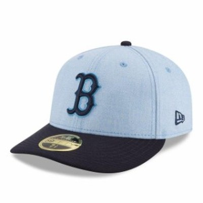 New Era ニュー エラ スポーツ用品  New Era Boston Red Sox Light Blue 2018 Fathers Day On Field Low Profile 59FIFTY Fitted Hat