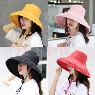 帽子 レディース UVカット帽子 UVハット 日よけ帽子 小顔&UVケア効果抜群 エレガントリボンUVハット 春夏 つば広