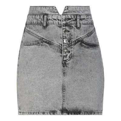 シルビアンヒーチ SILVIAN HEACH デニムスカート グレー 30 コットン 100% デニムスカート