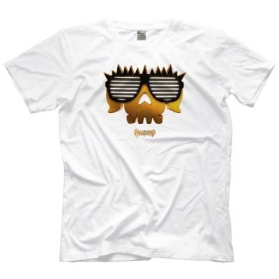 ELP エル・ファンタズモ Tシャツ「EL PHANTASMO ELP Gold Logo on White Tシャツ」アメリカ直輸入Tシャツ《日本未発売品》