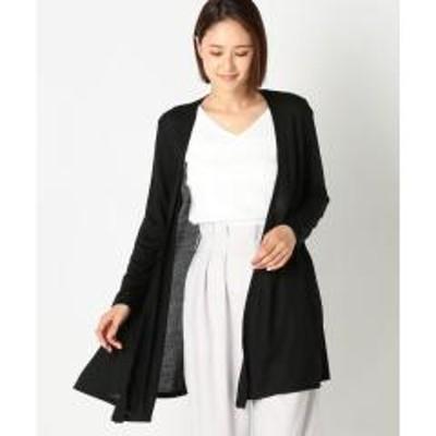 MEW'S REFINED CLOTHESUVカットドレープカーディガン【お取り寄せ商品】