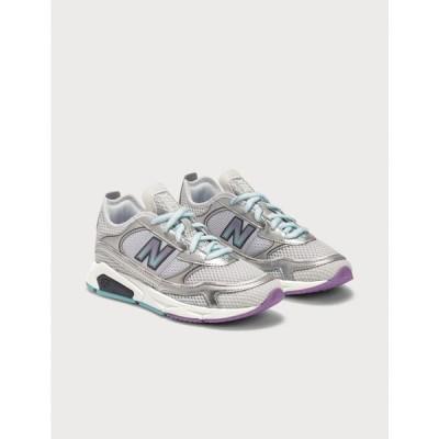 ニューバランス New Balance レディース スニーカー シューズ・靴 X-Racer Metallic Silver/Purple/Blue