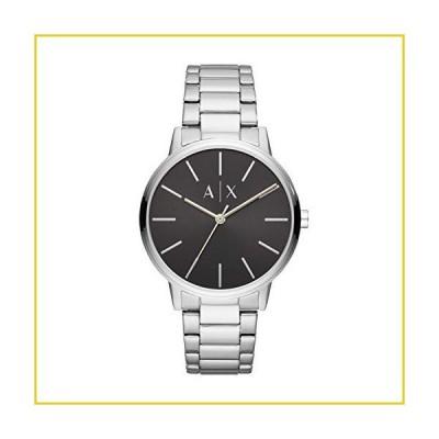 Armani Exchange Men's Cayde Stainless Steel Watch, Color: Silver/Black Steel (Model: AX2700)並行輸入品