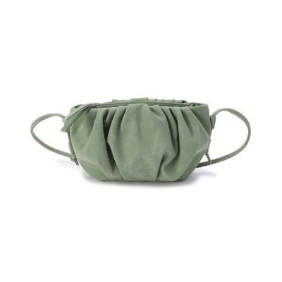 SHOO・LA・RUE / ギャザー使いスモールショルダーバッグ WOMEN バッグ > ショルダーバッグ