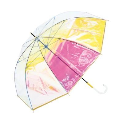 Wpc./KiU / プラスチックアンブレラ(ビニール傘)パイピング オーロラ WOMEN ファッション雑貨 > 長傘