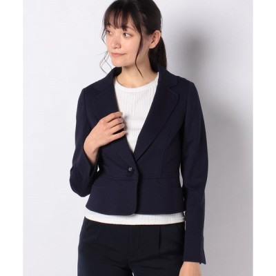 【ミス ジェイ】グログランポンチ テーラードジャケット