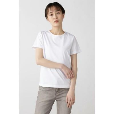 HUMAN WOMAN/ヒューマンウーマン コットンTシャツ シロ L
