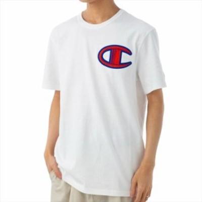 チャンピオン メンズ Tシャツ カットソーXLサイズ/Champion 半袖 クルーネック ロゴ Tシャツ カットソー 送料無料/込 誕生日プレゼント