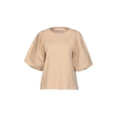 ONLY T シャツ サンド XS オーガニックコットン 100% T シャツ