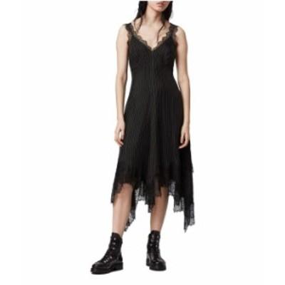 オールセインツ レディース ワンピース トップス Skylar Lace Dress Black