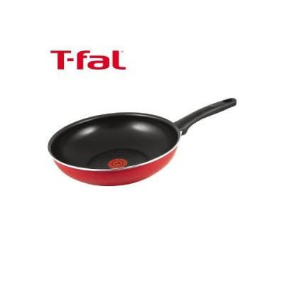 T-fal(ティファール)フェアリーローズ ウォックパン(炒め鍋)28cm ガス火専用 C50019