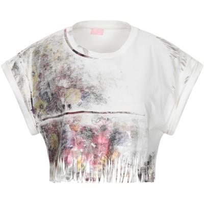 ジャンバ GIAMBA T シャツ ホワイト 40 コットン 100% T シャツ