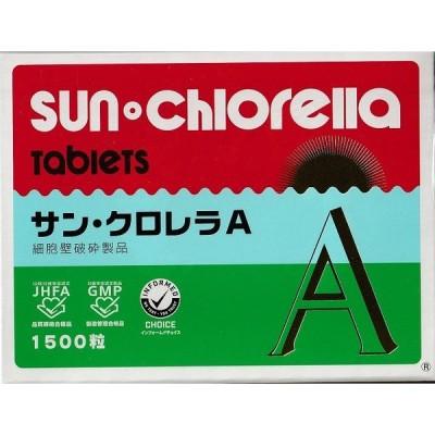 サンクロレラA 1500粒×4個
