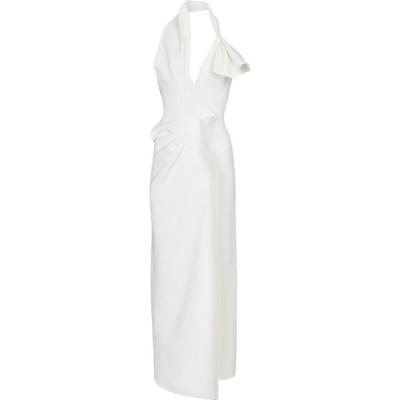 マティスフスキー Maticevski レディース パーティードレス ワンピース・ドレス Victoria cady gown White