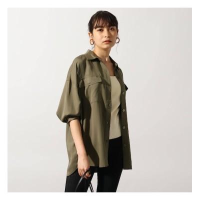 【オゾック/OZOC】 【洗える】セルロース(再生繊維)CPOシャツ