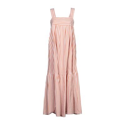 ロベルト コリーナ ROBERTO COLLINA ロングワンピース&ドレス ブラウン XS コットン 100% ロングワンピース&ドレス