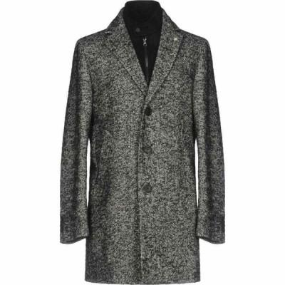 マニュエル リッツ MANUEL RITZ メンズ コート アウター Coat Grey