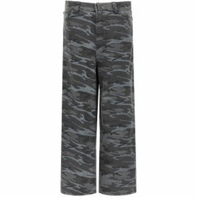BALENCIAGA/バレンシアガ Mixed colours Balenciaga over camouflage baggy jeans メンズ 春夏2021 641456 TJW55 ik